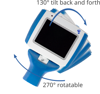 VL400 video laryngscope connection: All-angle rotaion